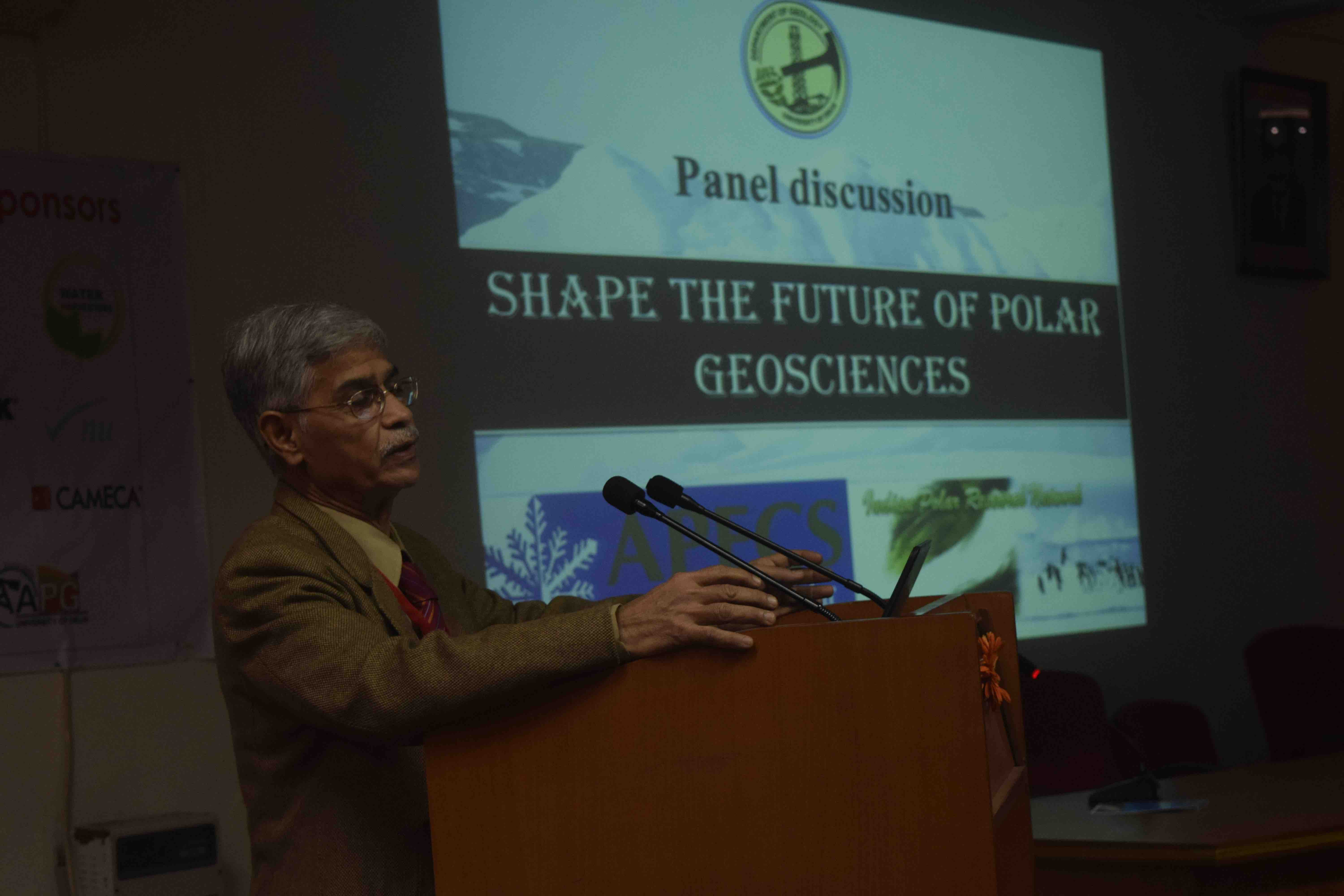 Pic 2 Dr. Anil Joshi sharing his experiences copy