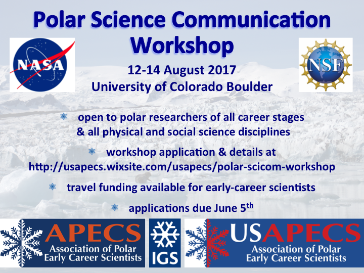 USAPECS scicomm workshop flyer